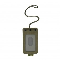 M-Tac бейдж з прозорою панеллю Ranger Green