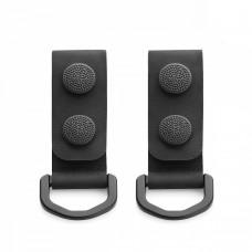 M-Tac кріплення з D-кільцем на тактичний ремінь (2 шт) Black