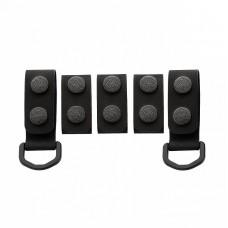 M-Tac кріплення на тактичний ремінь (5 шт) Black