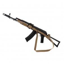 M-Tac ремінь збройовий трьохточковий Coyote