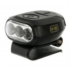 M-Tac ліхтар з кріпленням на головной убор чорний
