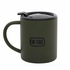 M-Tac термокружка 280 мл. з кришкою олива