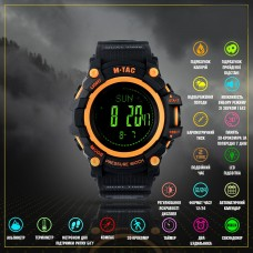 M-Tac годинник тактичний Adventure Black/Orange
