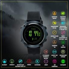 M-Tac годинник тактичний мультифункціональний Black