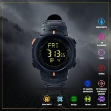 M-Tac годинник тактичний з компасом Black