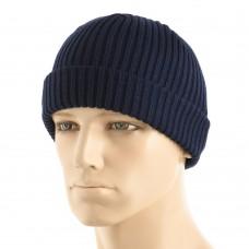 M-Tac knitted hat 100% acrylic Dark Navy Blue