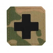 M-Tac нашивка Medic Cross Laser Cut Multicam/Black