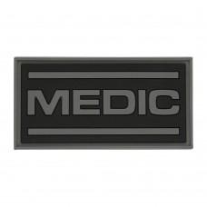 M-Tac patch Medic PVC black / gray