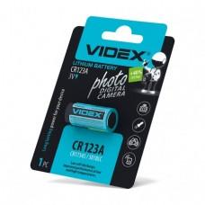 Videx батарейка CR123