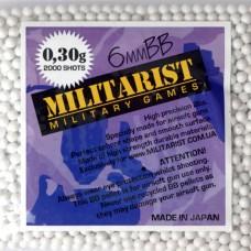 Мілітарист кульки 0.30 (2000 шт.)