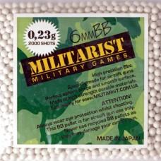 Мілітарист кульки 0.23 (2000 шт.)