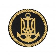 Нарукавний знак Військово-морські сили ЗСУ (жаккард)