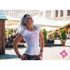 SvaStone футболка жіноча White Girl рожева