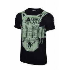 Arey футболка Plate 5,45 V2 Black/Olive