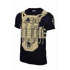 Arey футболка Plate 5,45 V2 Black/Coyote