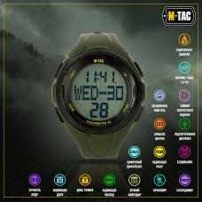 M-Tac годинник тактичний з крокоміром Olive